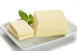 saturated fats - a block of butter
