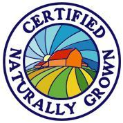certified naturally grown logo