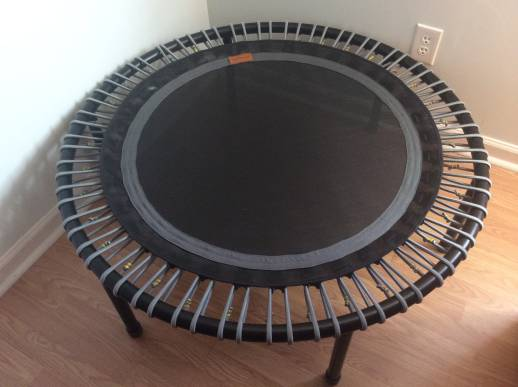 My Bellicon Grey and Black Rebounder